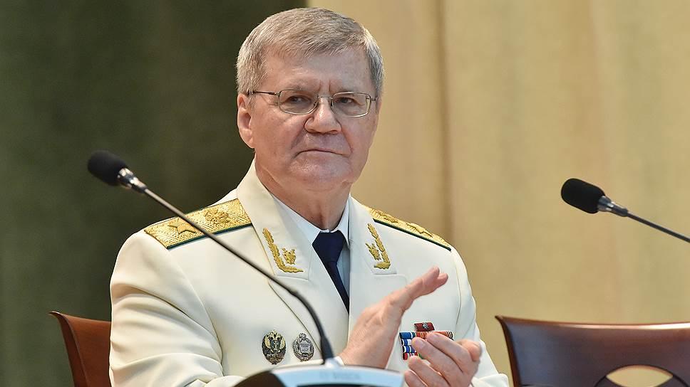 Генпрокурор РФ Юрий Яковлевич Чайка